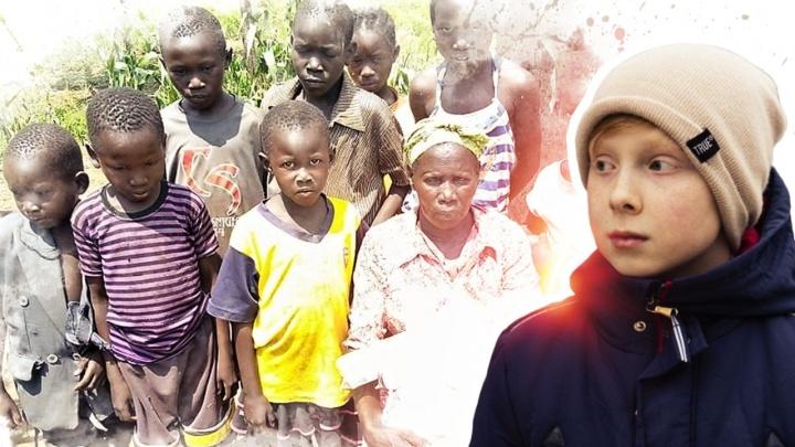 Шестиклассник с Уралмаша сумел заработать денег для бедных детей в Уганде
