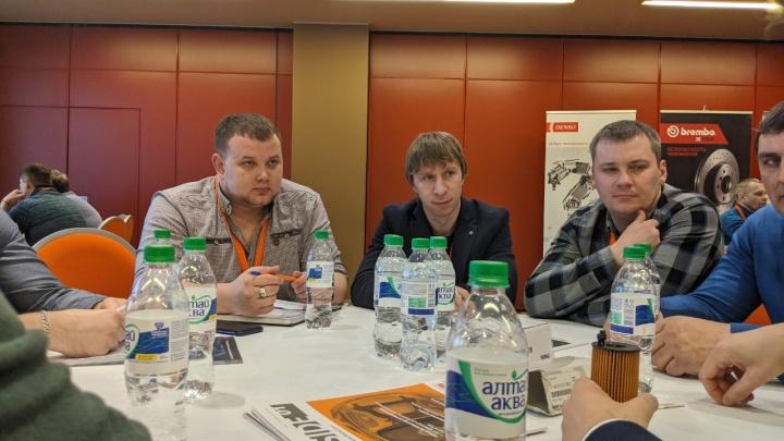 Владельцы СТО и магазинов автозапчастей Новосибирска встретились с крупными международными компаниями