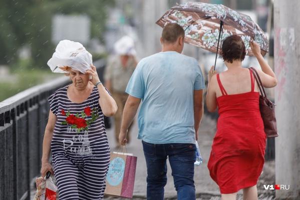 На этой неделе волгоградские спасатели предупредили горожан о надвигающейся буре