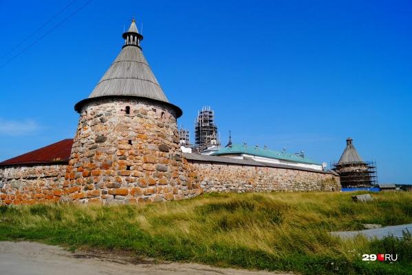 Реставрация на Соловках началась в 2012 году