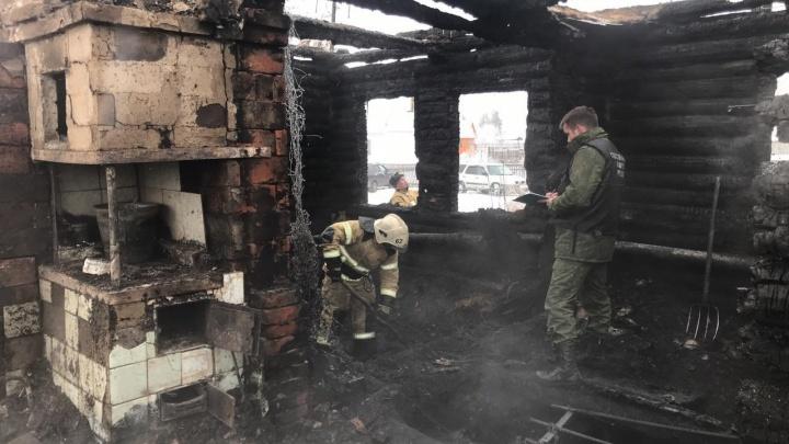 Следователи установили личности людей, погибших в страшном пожаре под Новосибирском