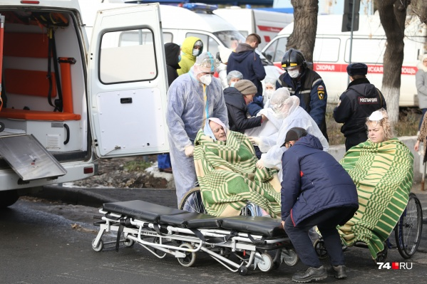 """В момент взрыва в ГКБ <nobr class=""""_"""">№ 2</nobr> находились полторы сотни больных с поражением легких&nbsp;"""