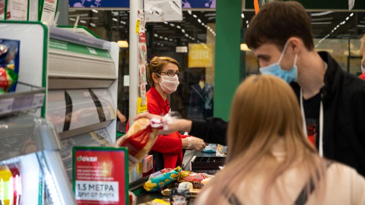 Торговые центры «в режиме ожидания»: фоторепортаж о жизни Ростова в самоизоляции