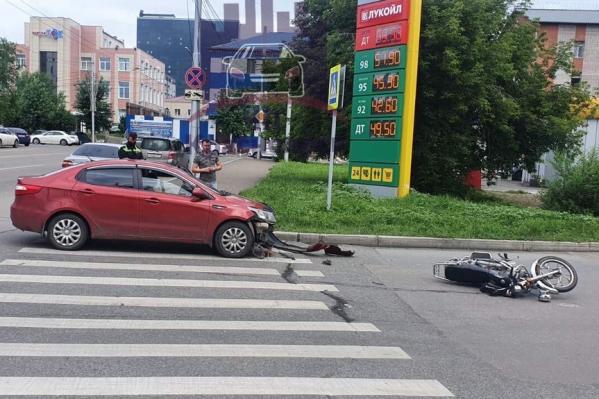 Авария произошла утром 14 июля