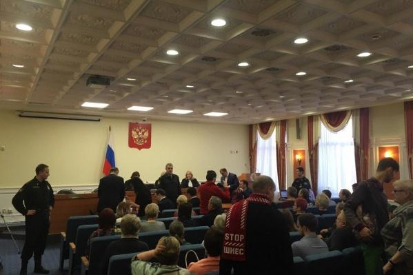 На суд в Вологду приехали даже архангелогородцы
