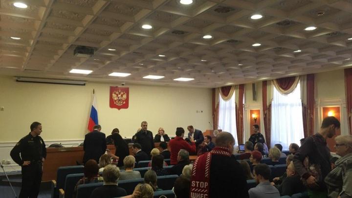 «Технопарк» заявил в суде Вологды о несогласии со сносом построек на Шиесе