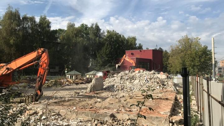 Ресторан «Ярбург» — всё: что построят на его месте