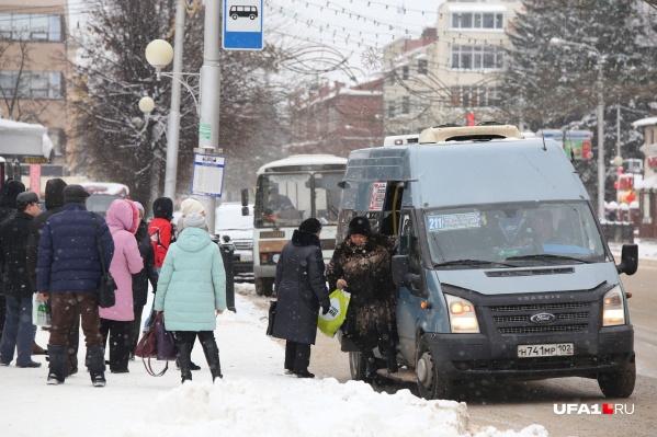 Большинство жителей Уфы недовольны общественным транспортом в городе