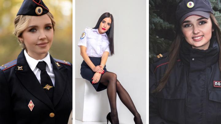 Горячая десятка: выбираем самую красивую девушку в погонах в Красноярске