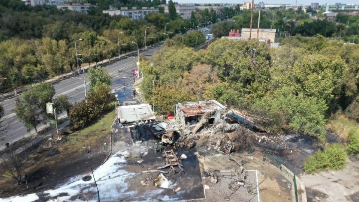 Следственный комитет начал проверку по факту взрыва на газовой заправке