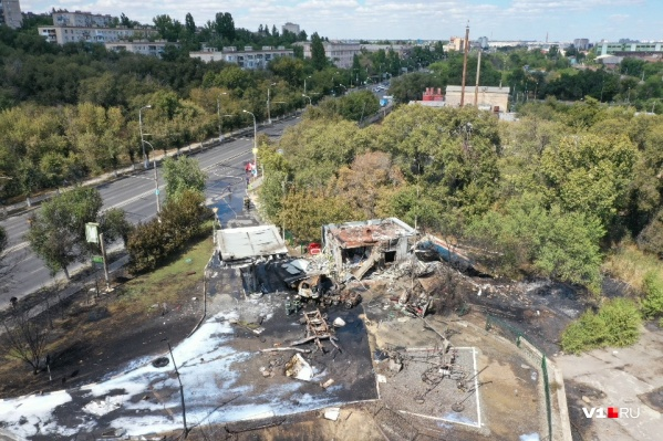 К расследованию причин взрыва на заправке подключился Следственный комитет