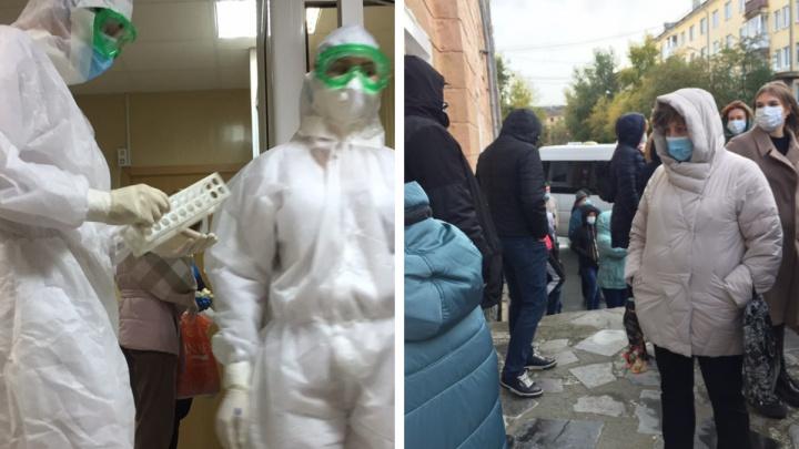 Едрит-ковид и очереди в больницах: екатеринбурженка — о том, как с коронавирусом мерзла на входе в больницу