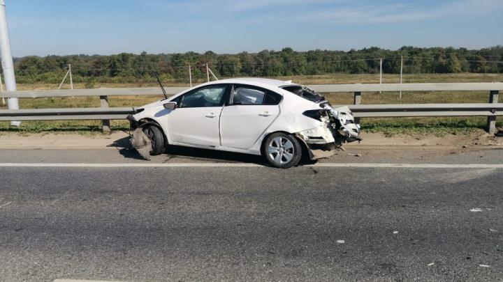Под Уфой на трассе М-5 произошло два ДТП, есть жертвы