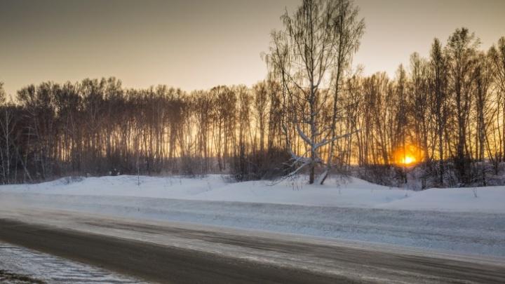 Погибла пассажирка: под Новосибирском столкнулись «Жигули» и два грузовика