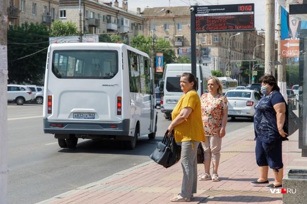 В конце июня волгоградские маршрутчики вернулись с «карантина»