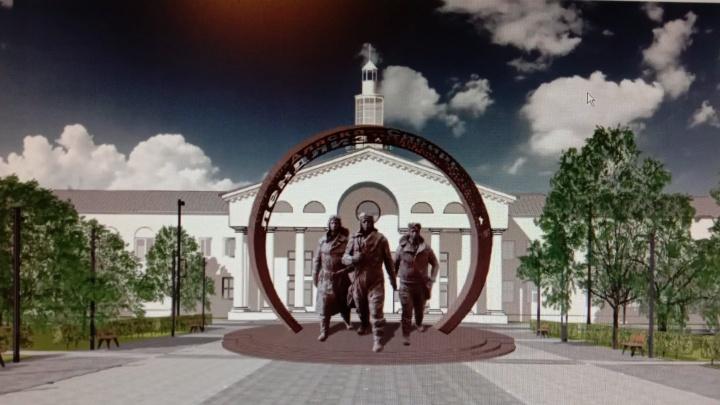 Представлена концепция благоустройства площади у автовокзала