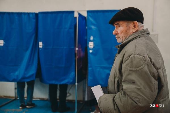 В выборах в поселке Московский в одном из округов приняли участие 22 избирателя