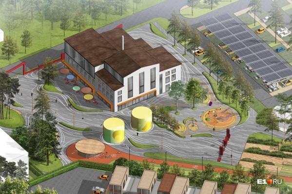 На территории лесопарка сделаютэкопросветительский центр и деревню мастеров