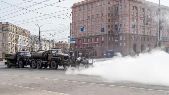 Дезинфекция улиц Челябинска с перекисью и чудо-машиной обойдётся бюджету в 11 миллионов рублей