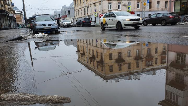 «Оттепели будут усиливаться»: циклон «Таня» в Ярославле из снежного превратится в дождливый