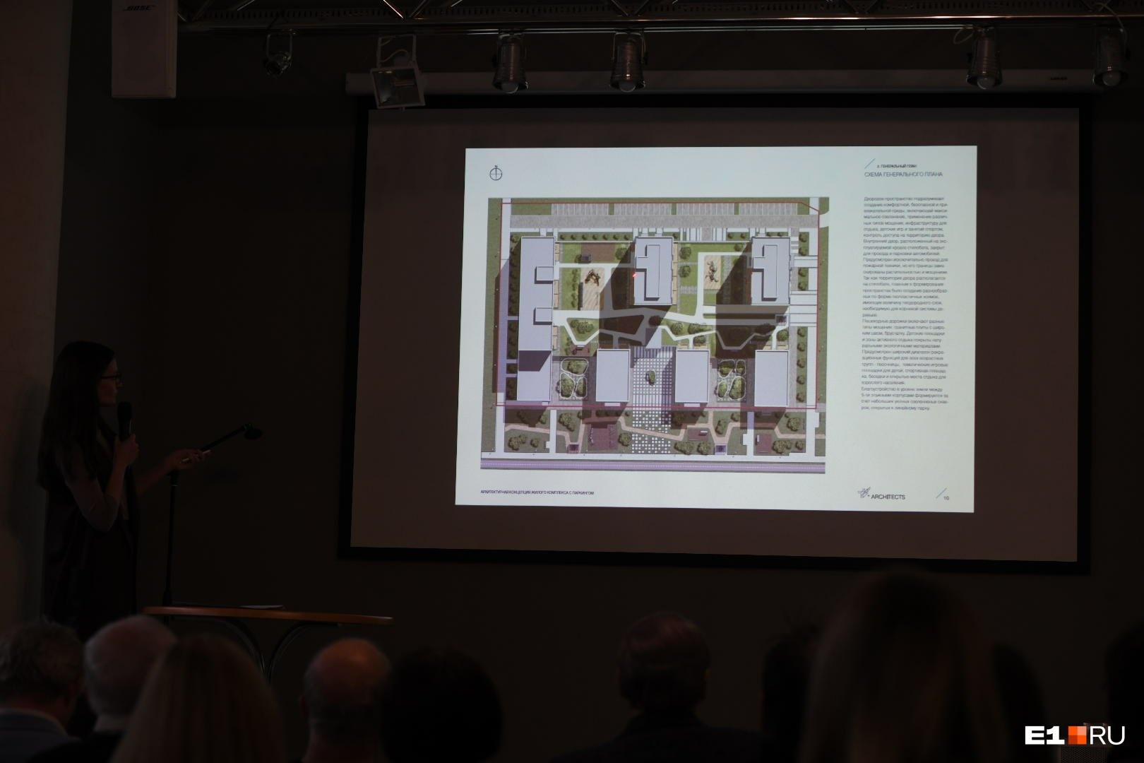 Квартальчик, который презентовали сегодня. Если смотреть на схему выше, он находится в левом верхнем углу