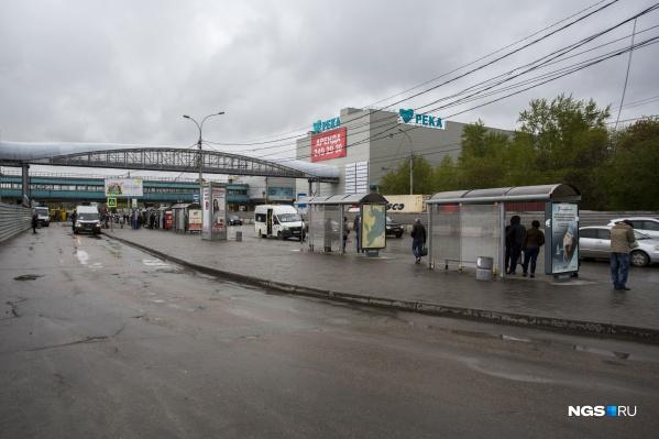 Новую остановку откроют рядом с Речным вокзалом