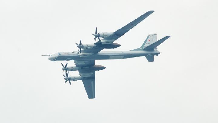Гул над городом: через Самару пролетели два бомбардировщика-ракетоносца