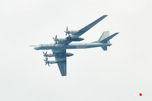 Ту-95 МС «Самара» — самый скоростной в мире самолёт с турбовинтовыми двигателями.