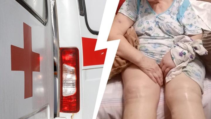 «Мама умирала у нас на руках»: волгоградка с жуткими отеками не дождалась места в «чистой» от COVID-19 больнице