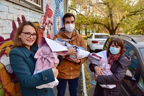 У Натальи и Ивана родились две дочери и сын