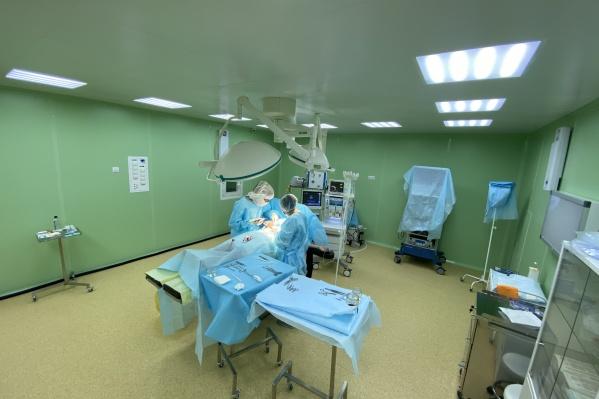 Здесь проводят десятки видов операций