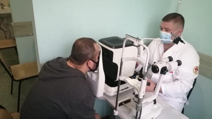 В Челябинск привезли прибор для оперативной диагностики проблем с глазами у жителей всей области