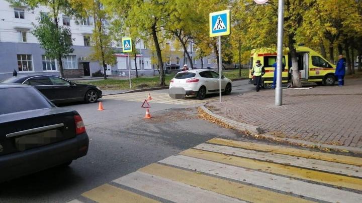 В Уфе пенсионер на Renault сбил ребенка на самокате