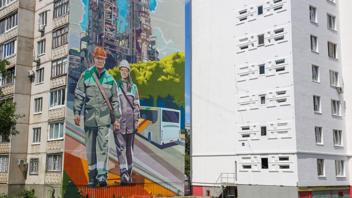 Середина на половину: Уфа лишилась самого масштабного стрит-арта