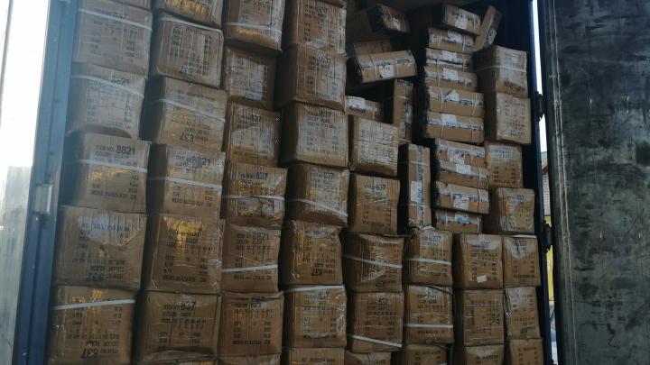 В Самаре остановили грузовик с обувью из Китая на 137 000 долларов