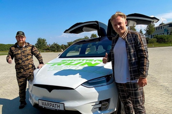 С главой Чечни новокузнечанин обсудил инфраструктуру для электрокаров в Грозном