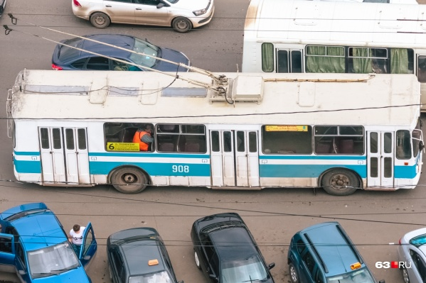 """Сейчас «шестерка» ходит по маршруту от Губернского рынка до остановки «Совхоз """"Волгарь""""» и обратно"""
