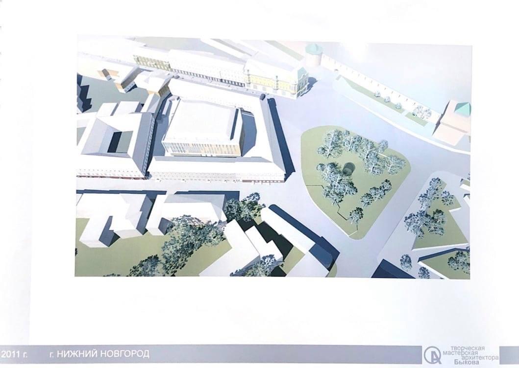 Строительство ставит под угрозу сохранность окружающих исторических зданий