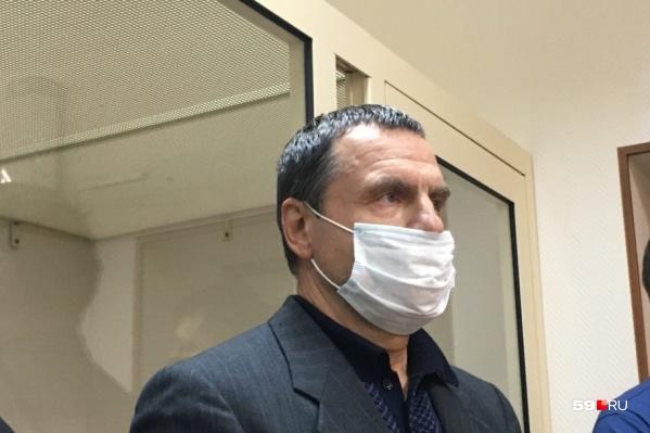 Андрей Ковтун во время оглашения приговора