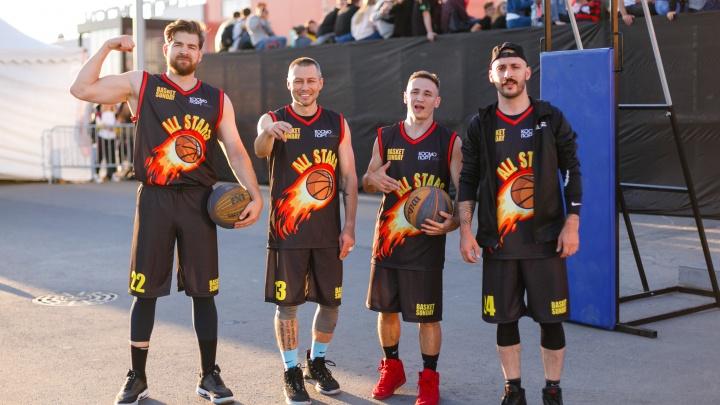 Самарцы сразились со звездами рэпа: как прошел турнир по баскетболу в ТРК «Космопорт»