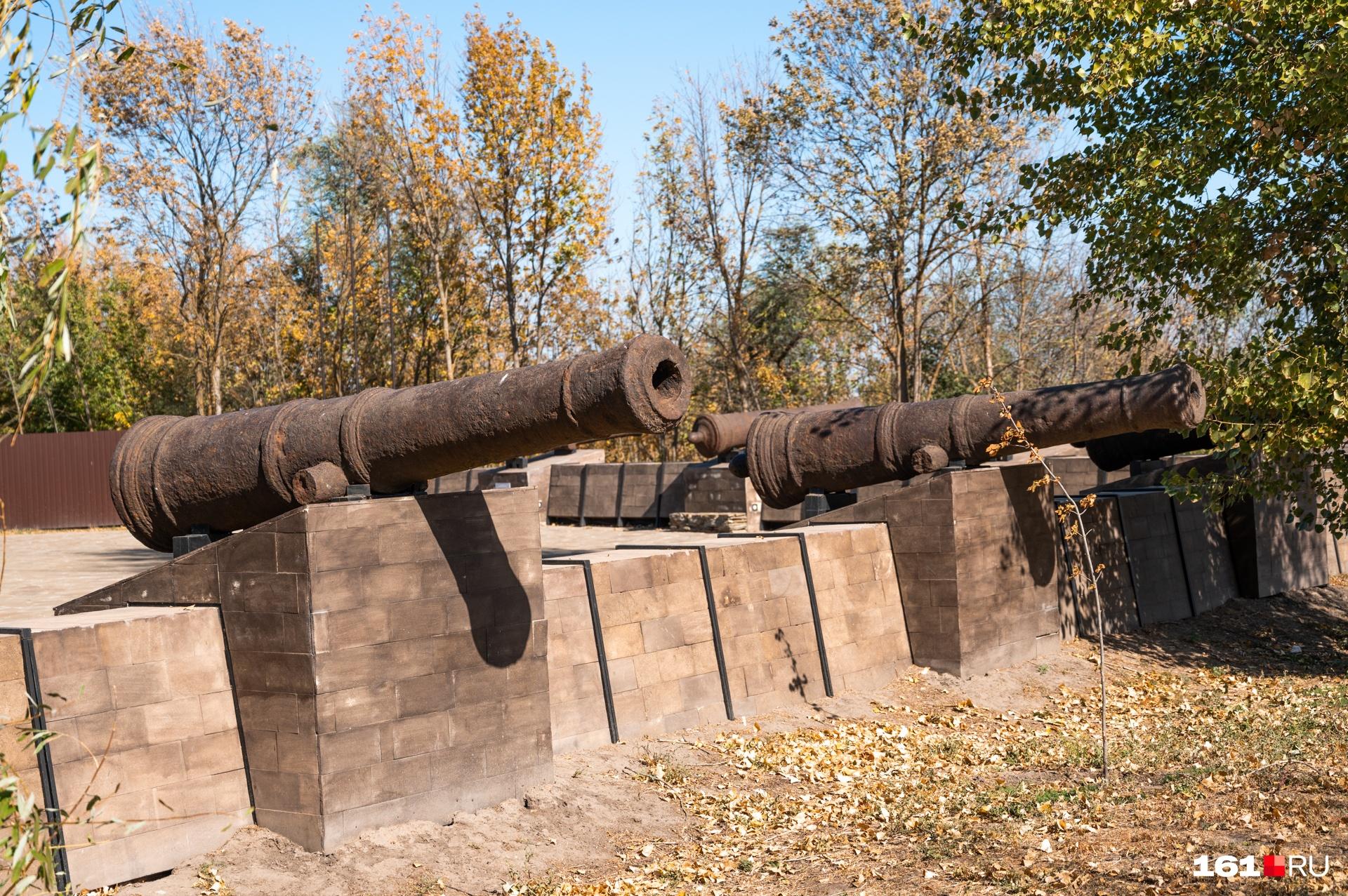 Восстановленная часть Черкасской крепости, когда-то оборонявшей южные рубежи России