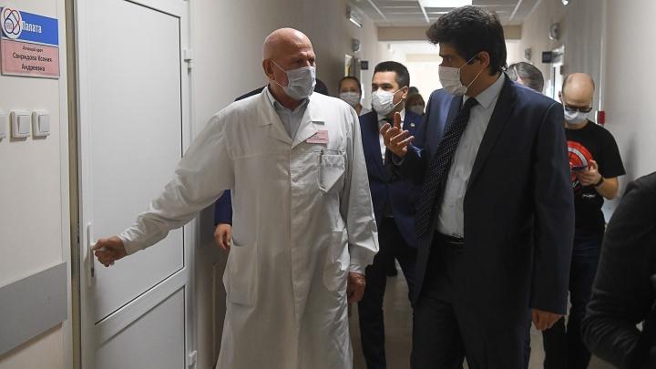 Мэр Высокинский сделал прививку от коронавируса и рассказал о своем самочувствии