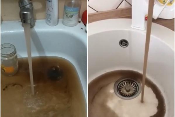 Вот такой водой вынуждены пользоваться антипинцы