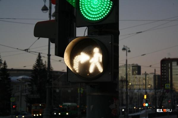 Так выглядят светофоры, установленные по новому ГОСТу