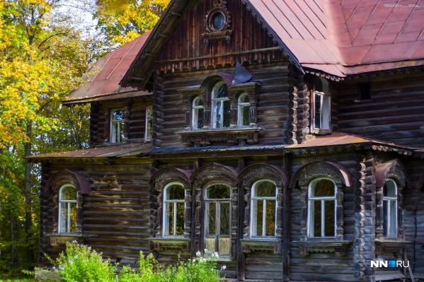 Для посещения открыт только один дом, по предварительной записи
