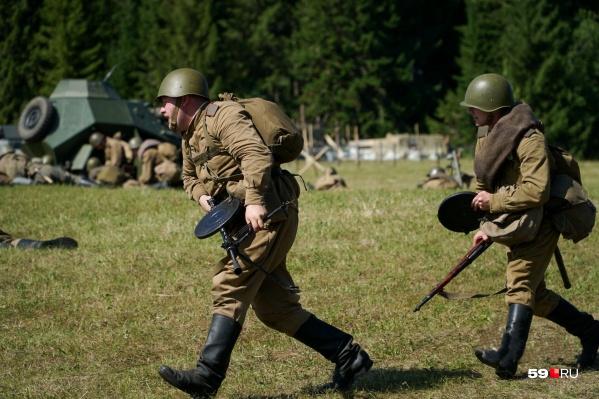 В воскресенье в Хохловке все будет как на настоящем фронте — здесь пройдет реконструкция боя времен войны