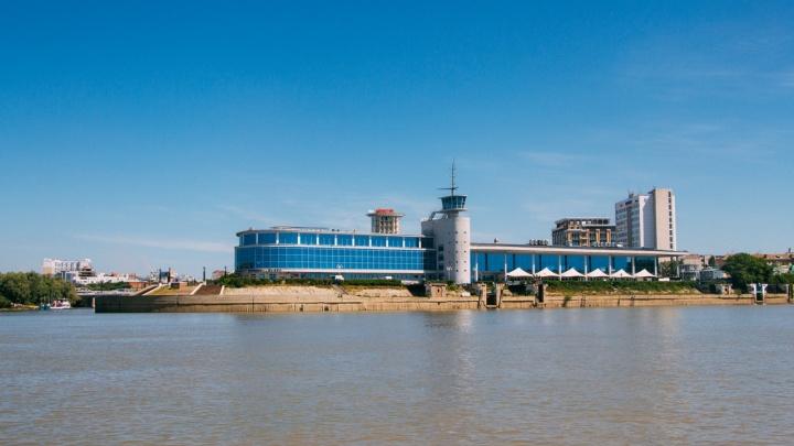Советский модернизм по-омски: как строили речной вокзал