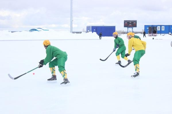 Игра проходила в Сыктывкаре при температуре в 0 градусов