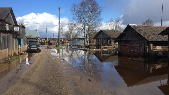 В Архангельской области остаются подтопленными 10 населенных пунктов