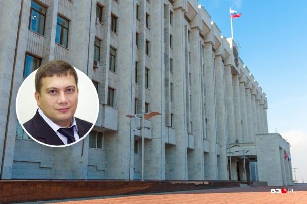 На посту руководителя администрации губернатора Владимир Терентьев проработал ровно год
